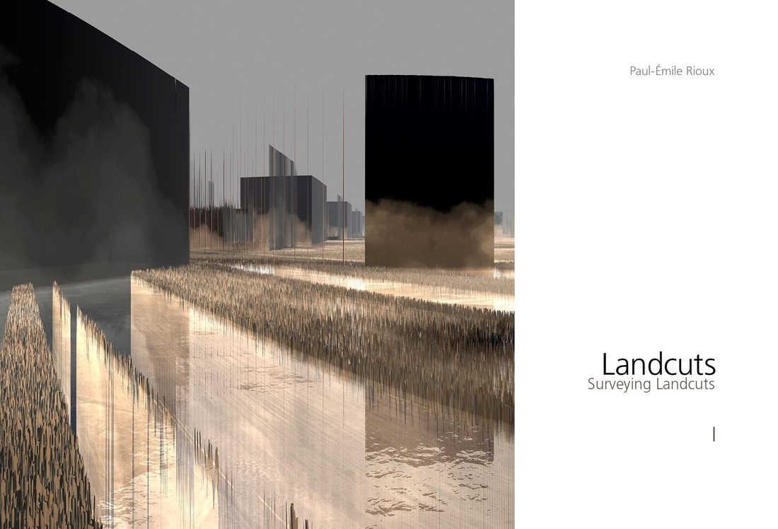 Surveying Landcuts ,Rioux Montreal Digital Art Numerique